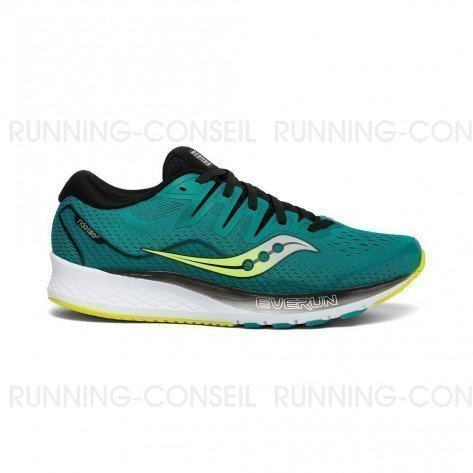 SAUCONY RIDE ISO 2 Homme - Teal   Black
