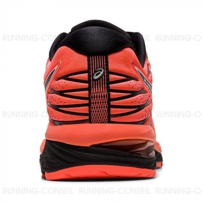 Chaussure de running Asics Gel-Cumulus 21 Homme Flash Coral/Black