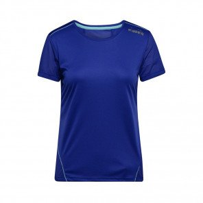 DIADORA T-SHIRT MANCHES COURTES L.X-RUN FEMME | RED VIRTUAL PINK | Collection Printemps-Été 2019