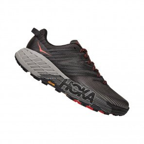 HOKA SPEEDGOAT 4 HOMME | Dark Gull Grey / Anthracite