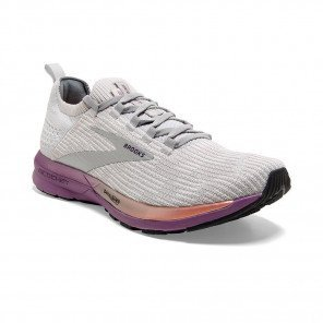 BROOKS RICOCHET 2 Femme | Grey/Cantaloupe/Grape