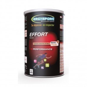 ERGYSPORT Boisson Effort - Pot de 450g | Pêche