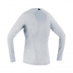 GORE® BASE LAYER MAILLOT MANCHES LONGUES FEMME   WHITE