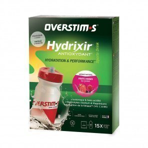 Hydrixir antioxydant Sticks fruits rouges overstims