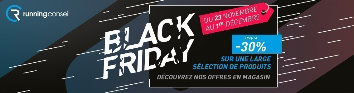 Black Friday Running Conseil Tours